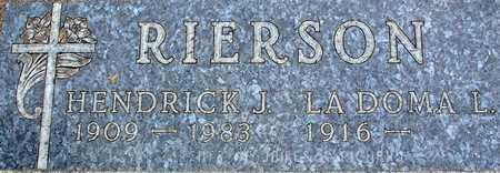 RIERSON, LADOMA - Palo Alto County, Iowa | LADOMA RIERSON