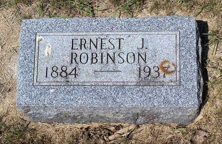 ROBINSON, ERNEST J. - Palo Alto County, Iowa | ERNEST J. ROBINSON