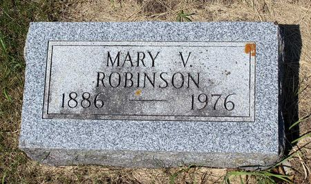 ROBINSON, MARY V. - Palo Alto County, Iowa | MARY V. ROBINSON