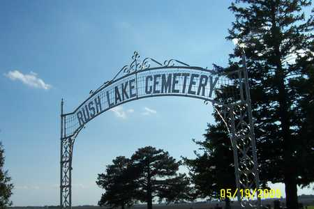 RUSH LAKE, CEMETERY - Palo Alto County, Iowa | CEMETERY RUSH LAKE