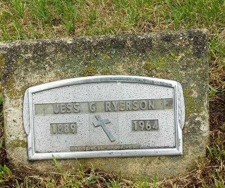 RYERSON, JESS GORDON - Palo Alto County, Iowa | JESS GORDON RYERSON