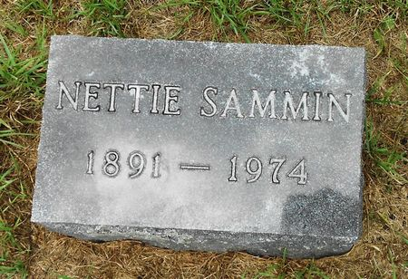 SAMMIN, NETTIE - Palo Alto County, Iowa | NETTIE SAMMIN