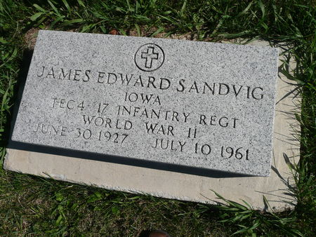 SANDVIG, JAMES - Palo Alto County, Iowa | JAMES SANDVIG
