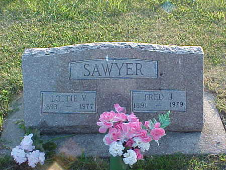 SAWYER, FRED J - Palo Alto County, Iowa | FRED J SAWYER