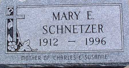 SCHNETZER, MARY - Palo Alto County, Iowa | MARY SCHNETZER