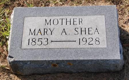 SHEA, MARY A. - Palo Alto County, Iowa | MARY A. SHEA