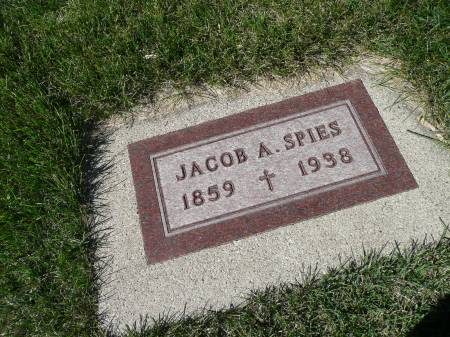 SPIES, JACOB A - Palo Alto County, Iowa | JACOB A SPIES