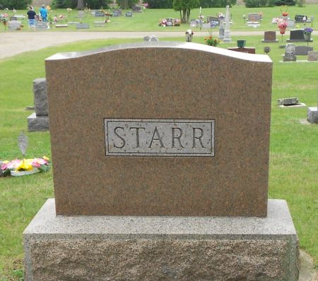 STARR, FAMILY MEMORIAL - Palo Alto County, Iowa | FAMILY MEMORIAL STARR
