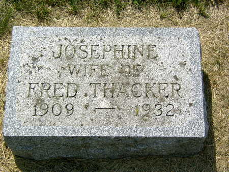 O'BRIEN THACKER, JOSEPHINE - Palo Alto County, Iowa | JOSEPHINE O'BRIEN THACKER