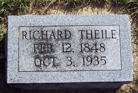 THEILE, RICHARD A - Palo Alto County, Iowa | RICHARD A THEILE