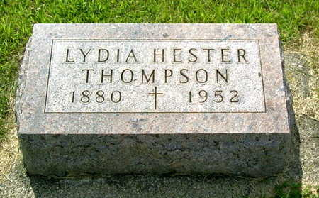 HESTER THOMPSON, LYDIA - Palo Alto County, Iowa | LYDIA HESTER THOMPSON