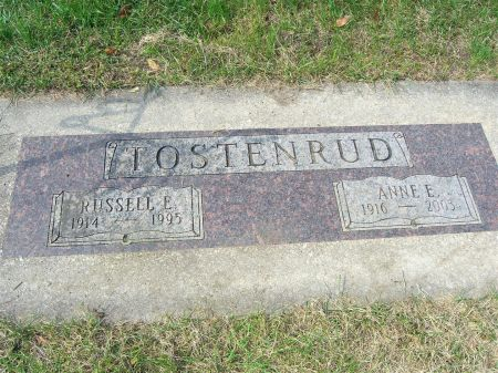 TOSTENRUD, RUSSELL - Palo Alto County, Iowa | RUSSELL TOSTENRUD