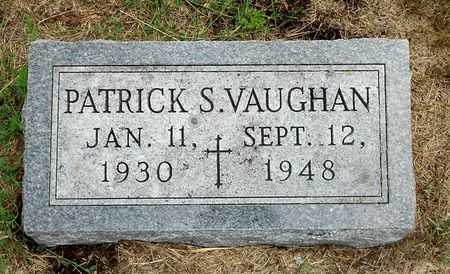 VAUGHAN, PATRICK STEPHEN - Palo Alto County, Iowa | PATRICK STEPHEN VAUGHAN