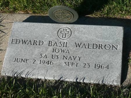 WALDRON, EDWARD BASIL - Palo Alto County, Iowa | EDWARD BASIL WALDRON