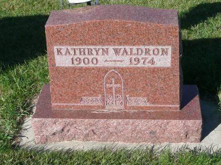 WALDRON, KATHRYN - Palo Alto County, Iowa | KATHRYN WALDRON