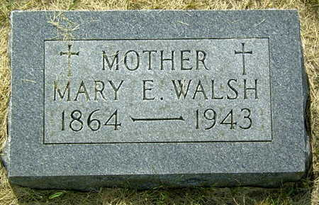 WALSH, MARY E. - Palo Alto County, Iowa | MARY E. WALSH