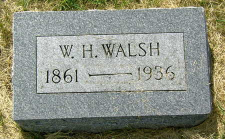WALSH, W. H. - Palo Alto County, Iowa | W. H. WALSH