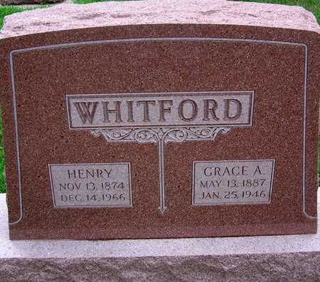 WHITFORD, GRACE - Palo Alto County, Iowa | GRACE WHITFORD