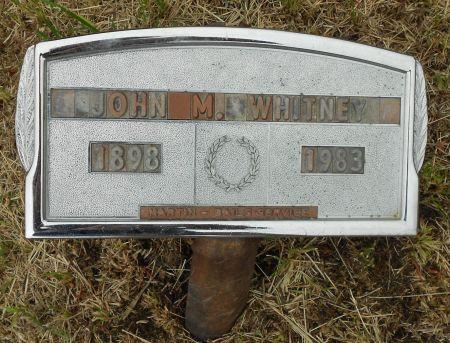 WHITNEY, JOHN M - Palo Alto County, Iowa | JOHN M WHITNEY