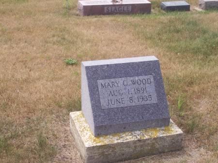 MYERS WOOD, MARY G. - Palo Alto County, Iowa | MARY G. MYERS WOOD