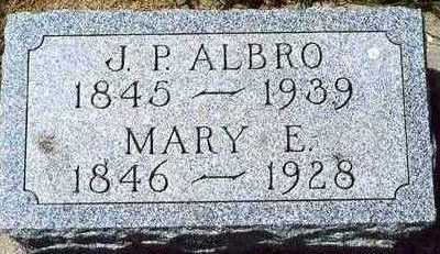 ALBRO, MARY E. - Plymouth County, Iowa | MARY E. ALBRO