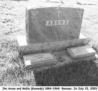 ARENS, JOHN PETER - Plymouth County, Iowa | JOHN PETER ARENS