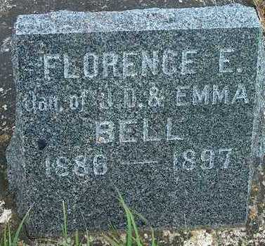 BELL, FLORENCE E. - Plymouth County, Iowa | FLORENCE E. BELL
