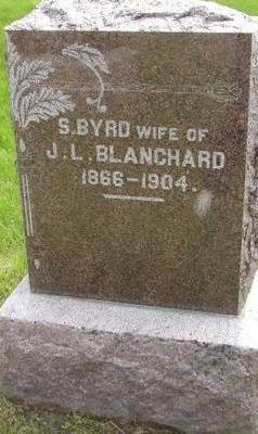 BYRD BLANCHARD, S - Plymouth County, Iowa | S BYRD BLANCHARD