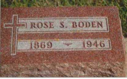 BODEN, ROSE S. - Plymouth County, Iowa | ROSE S. BODEN