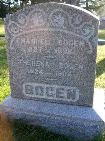 BOGEN, EMANUEL - Plymouth County, Iowa | EMANUEL BOGEN