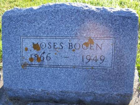 BOGEN, MOSES - Plymouth County, Iowa | MOSES BOGEN