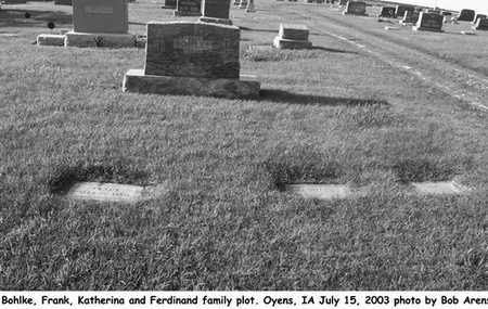 BOHLKE, FAMILY PLOT - Plymouth County, Iowa | FAMILY PLOT BOHLKE
