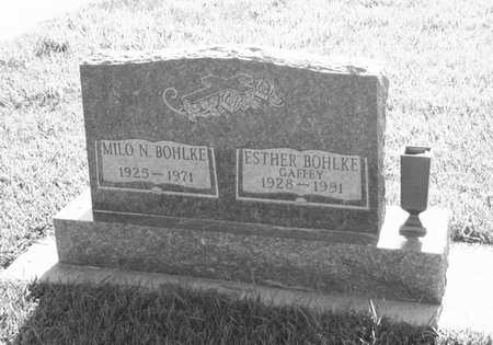 GAFFEY BOHLKE, ESTHER - Plymouth County, Iowa | ESTHER GAFFEY BOHLKE