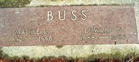 BUSS, EDWARD D. - Plymouth County, Iowa | EDWARD D. BUSS