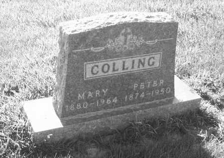 COLLING, MARY - Plymouth County, Iowa | MARY COLLING