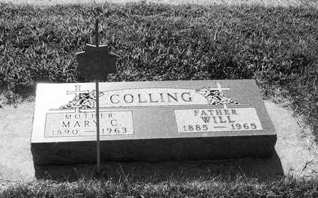 COLLING, WILL - Plymouth County, Iowa   WILL COLLING