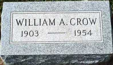 CROW, WILLIAM A. - Plymouth County, Iowa | WILLIAM A. CROW