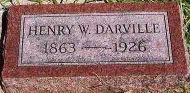 DARVILLE, HENRY WILLIAM - Plymouth County, Iowa | HENRY WILLIAM DARVILLE