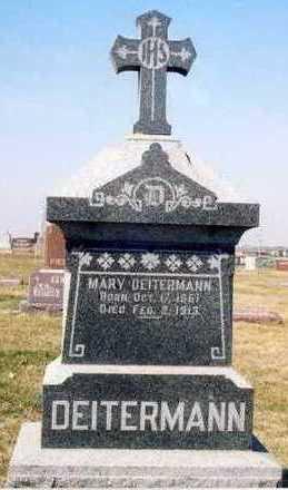 DEITERMANN, MARY - Plymouth County, Iowa | MARY DEITERMANN