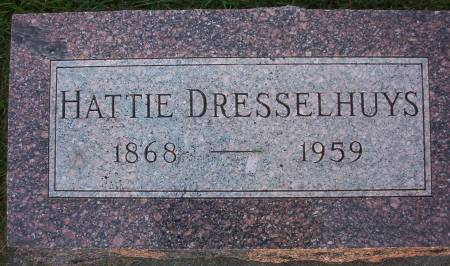 DRESSELHUYS, HATTIE - Plymouth County, Iowa | HATTIE DRESSELHUYS