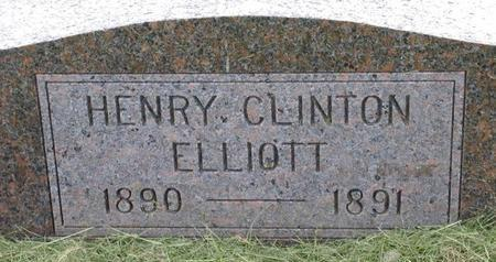 ELLIOTT, HENRY CLINTON - Plymouth County, Iowa | HENRY CLINTON ELLIOTT