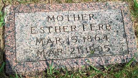ERB, ESTHER I. - Plymouth County, Iowa | ESTHER I. ERB