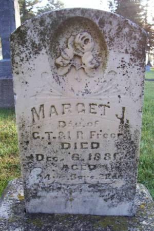 FREER, MARGRET J. - Plymouth County, Iowa | MARGRET J. FREER