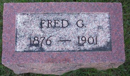 FREULER, FRED G. - Plymouth County, Iowa | FRED G. FREULER
