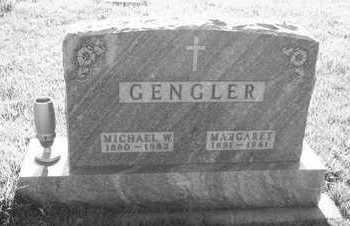 GENGLER, MARGARET - Plymouth County, Iowa | MARGARET GENGLER