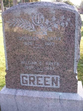 GREEN, WILLIAM E. - Plymouth County, Iowa | WILLIAM E. GREEN