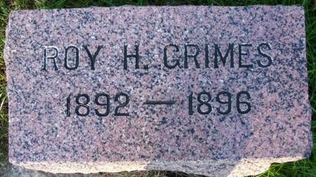 GRIMES, ROY H. - Plymouth County, Iowa | ROY H. GRIMES
