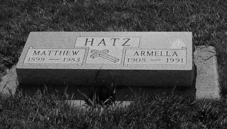HATZ, MATTHEW - Plymouth County, Iowa | MATTHEW HATZ