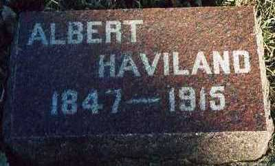 HAVILAND, ALBERT - Plymouth County, Iowa | ALBERT HAVILAND