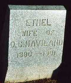NELSON HAVILAND, ETHEL EVA - Plymouth County, Iowa | ETHEL EVA NELSON HAVILAND